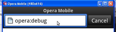 opera:debug