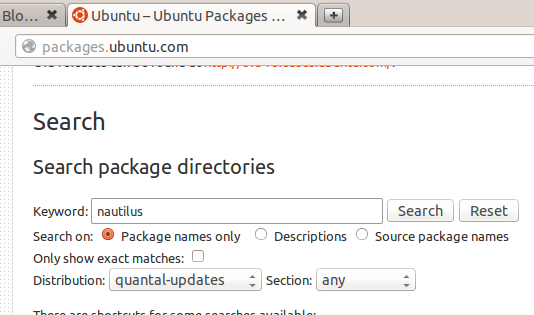 packages-ubuntu