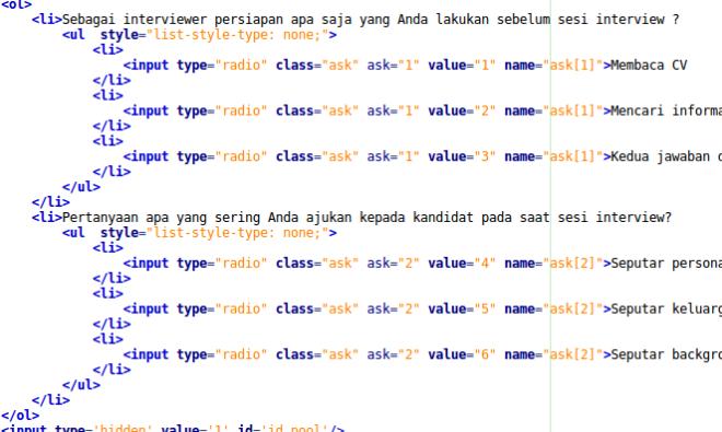 input-array-html-code