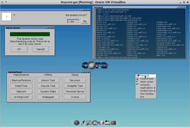 install-tinylinux-with-gui