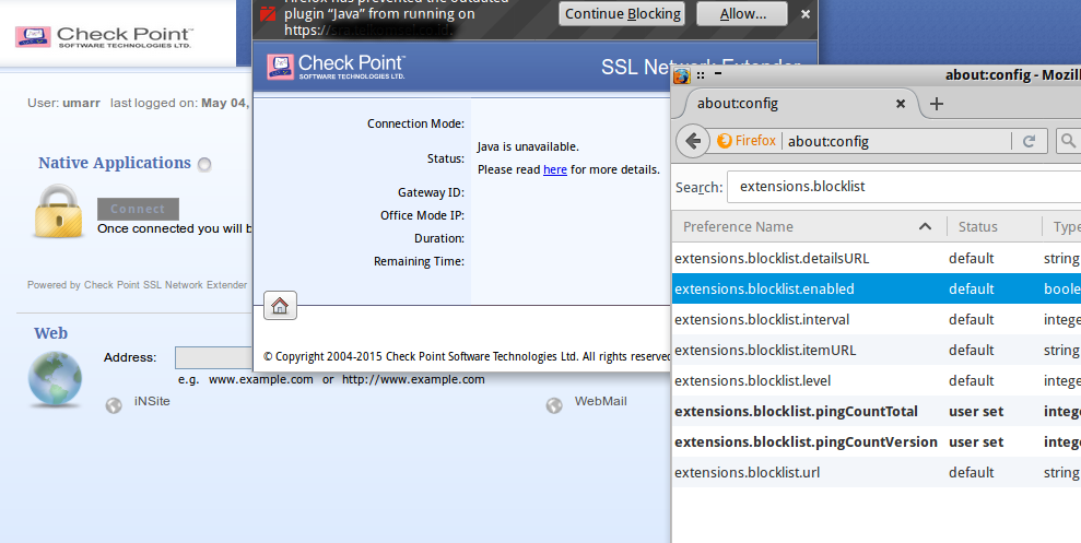 vpn – checkpoint linux web based crash – G3n1k's Blog