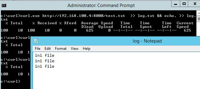 windows – curl exe add new line to file output – G3n1k's Blog